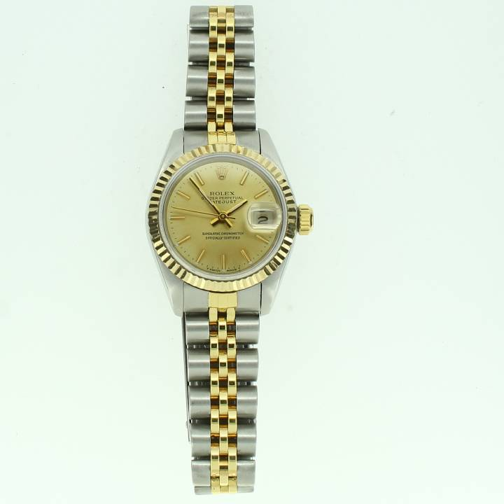 Pre-Owned Ladies Rolex Datejust Watch, Champagne Dial 1701951