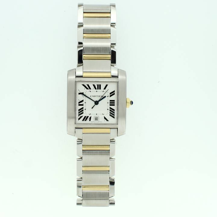 Pre-Owned Gents Cartier Tank Francaise Watch, Automatic Movement