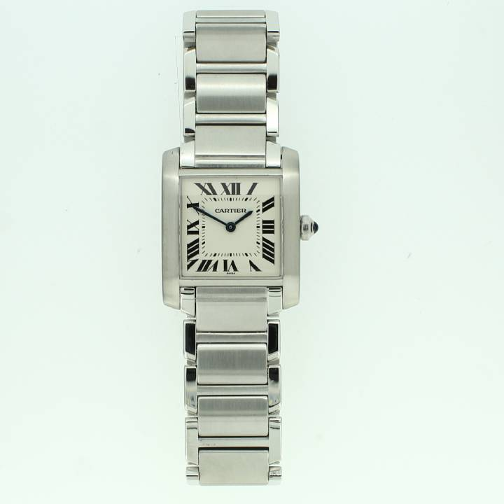 Pre-Owned Mid-Size Cartier Tank Francaise Watch