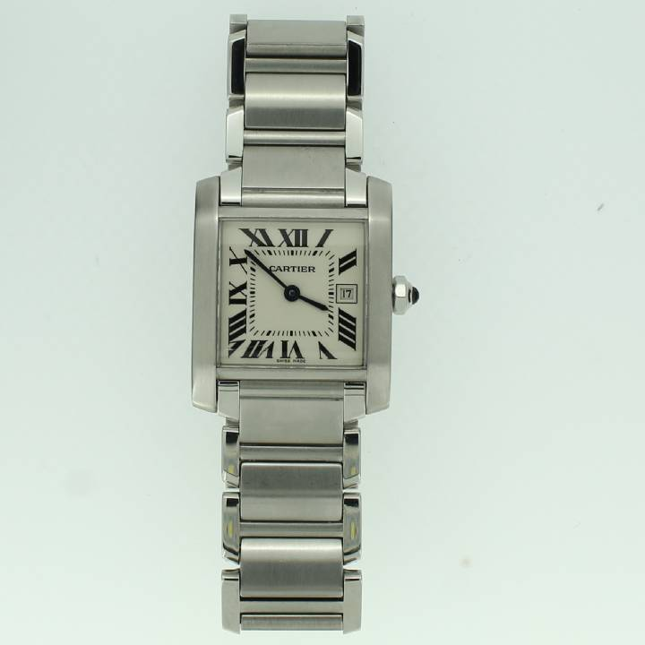 Pre-Owned Cartier Midi Tank Francaise Watch. 1702250
