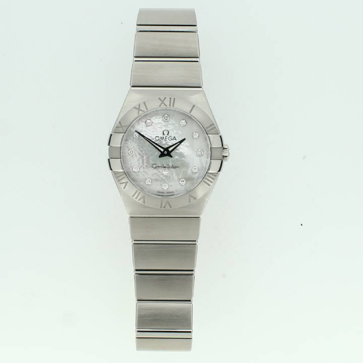 Pre-Owned Ladies Omega Constellation Watch, Original Papers