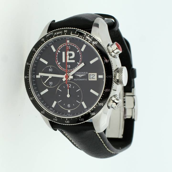 Pre-Owned Longines Grande  Vitesse Chronograph Watch