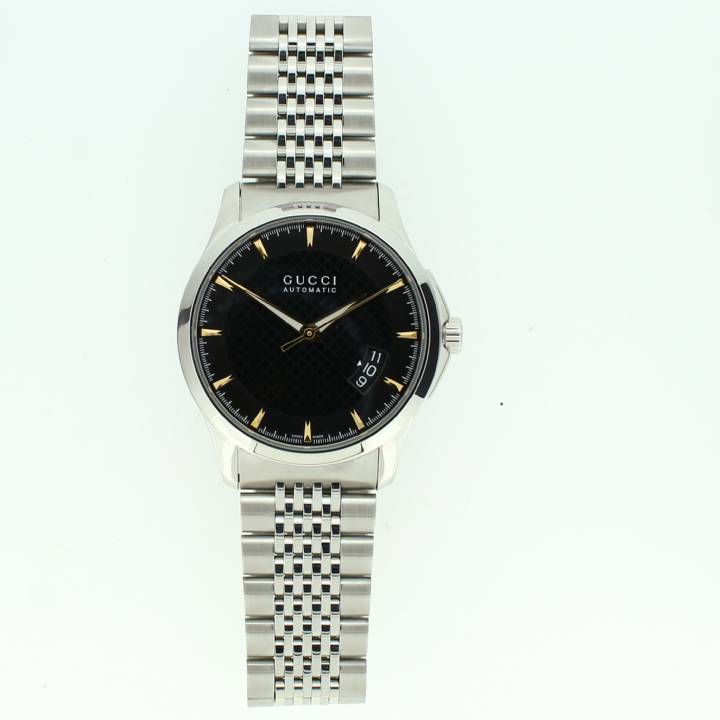 Pre-Owned Gents Gucci G Timeless Watch, Black Dial