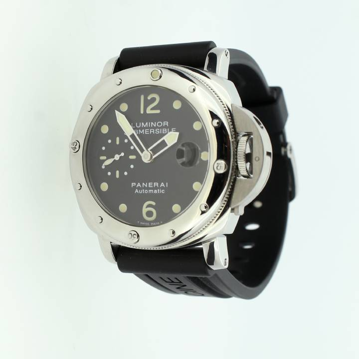 Pre-Owned Panerai Luminor Submersible Watch, Original Papers 1709420