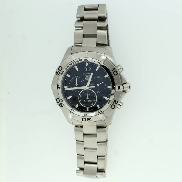 Pre-Owned Gents Tag Heuer Aquaracer Black Dial, Original Papers 1705451