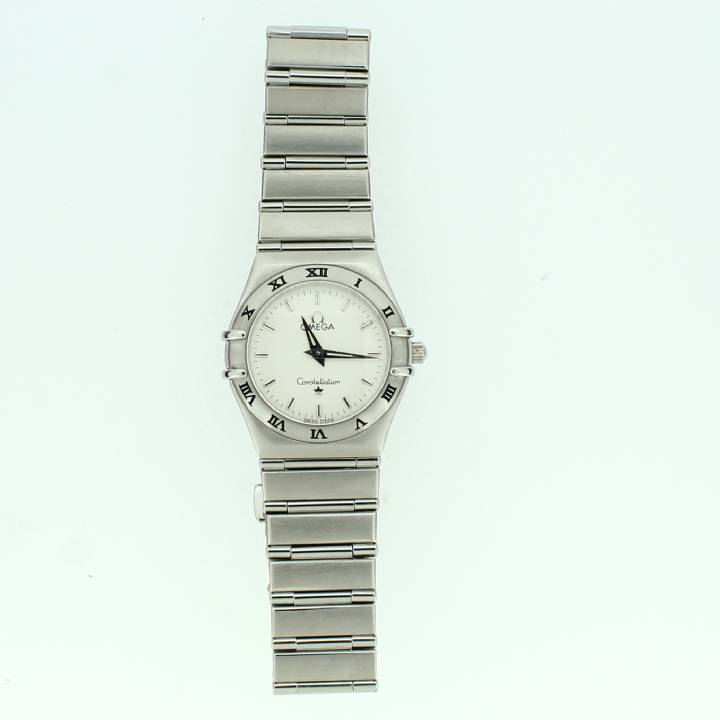 Pre-Owned ladies Omega Constellation Watch, White Dial 1703394