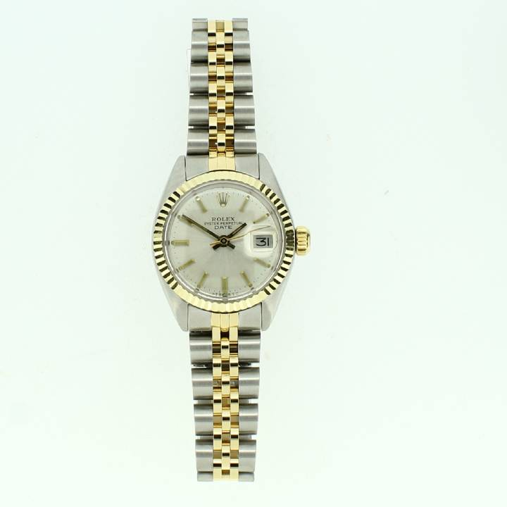 Pre-Owned Ladies Rolex Datejust Watch, Silver Dial
