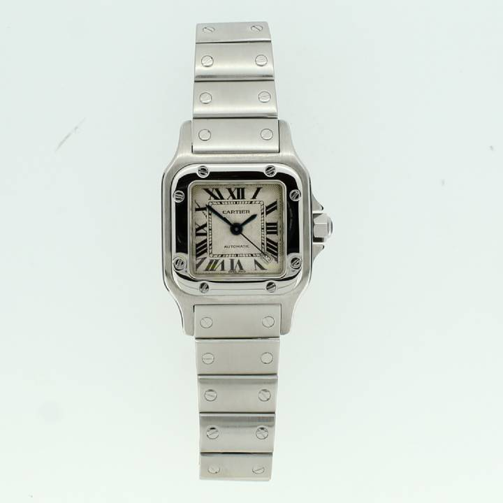 Pre-Owned Ladies Cartier Santos Watch, Automatic Movement 1702293