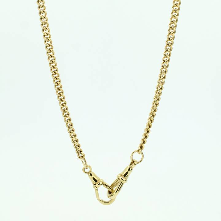 Pre-Owned 9ct Yellow Gold Curb Chain 20