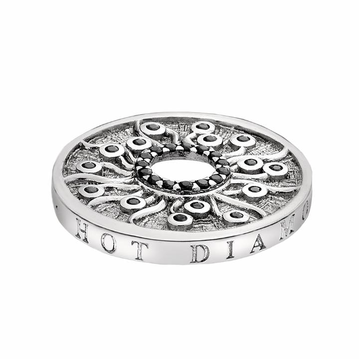 Emozioni Silver Plated Many Paths 25mm Coin, Was £29.95