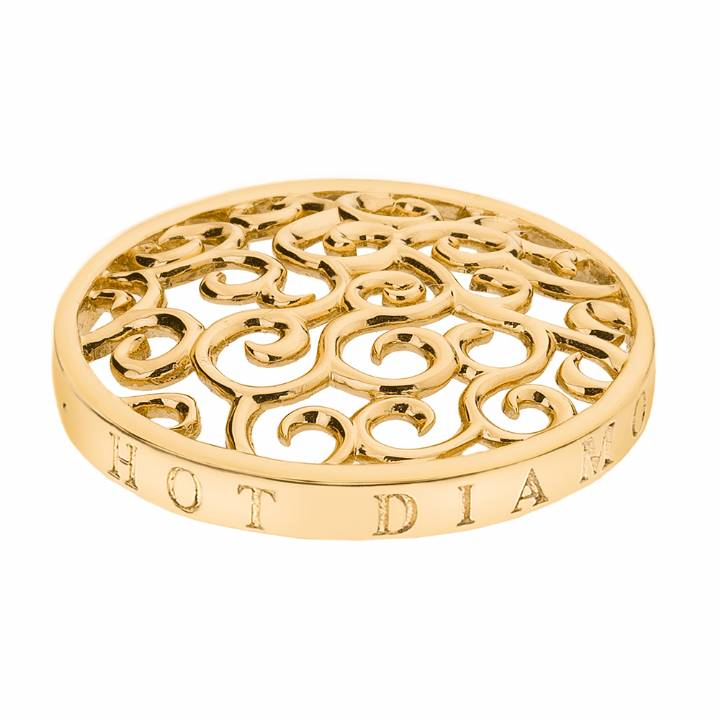 Emozioni Winding Paths 33mm Gold Plated Coin, Was £29.95