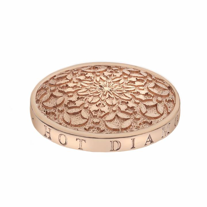 Emozioni Rose Gold Plated Mystical Map 25mm Coin,  Was £29.95