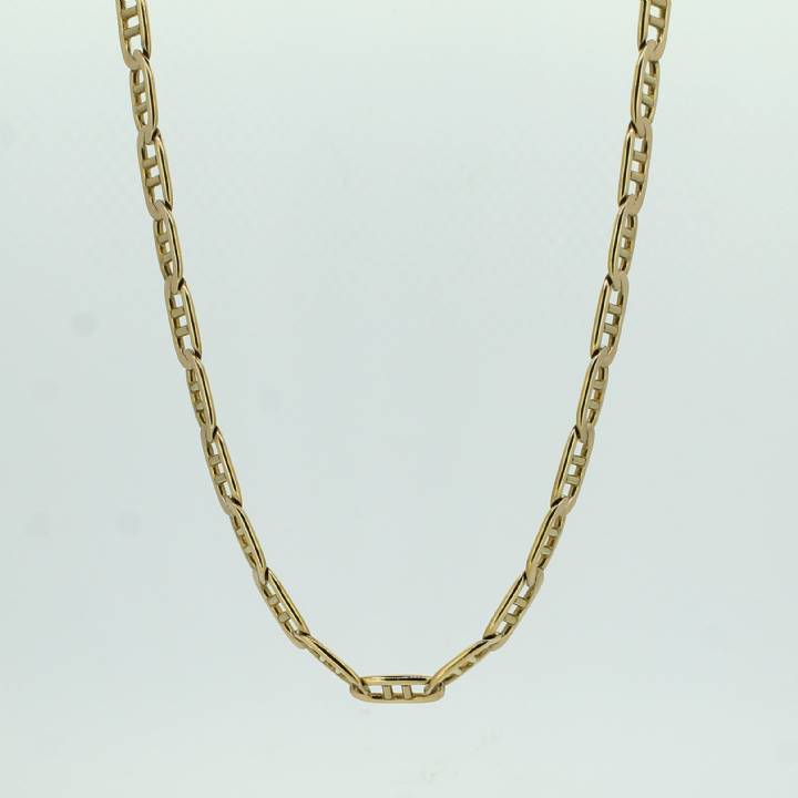 Pre-Owned 9ct Yellow Gold Marine Link Chain 18