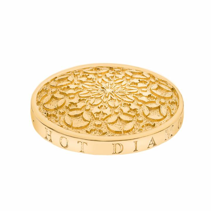 Emozioni Gold Plated Mystical Map 25mm Coin, Was £29.95