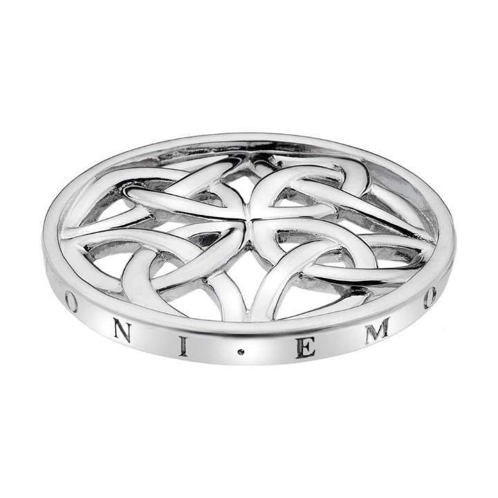 Emozioni Celtic Knot Silver Coin 25mm, Was £24.95