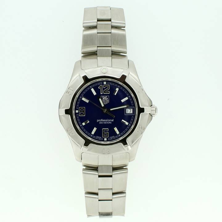Pre-Owned Gents Tag Heuer 2000 Exclusive Watch, Blue Dial
