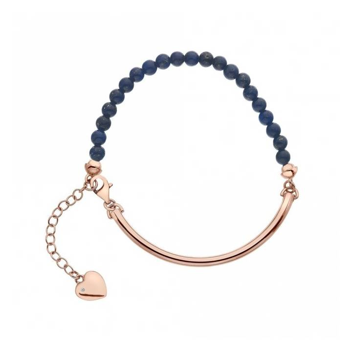 Hot Diamonds Trend Festival Bracelet-Lapis, Was £69.95