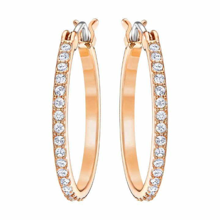 Swarovski Rose Gold Plated Fine Earrings  Was £45.00 2601082