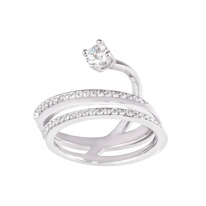 154dbbbb6 Swarovski Fresh Silver Wrap Ring, Size 52, was £99.00 2602190