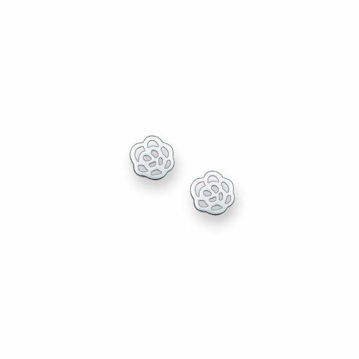 1305db9d4 Thomas Sabo Silver Cut Out Flower Stud Earrings, Was £35.00 | H1783 ...