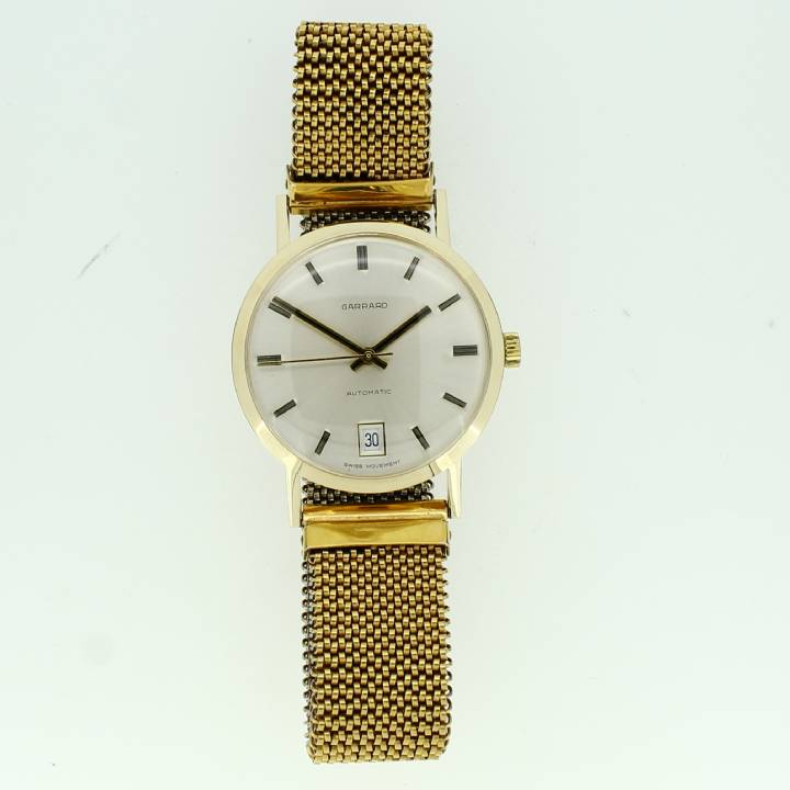 Pre-Owned Gents Yellow Gold Garrard Watch, Automatic Movement