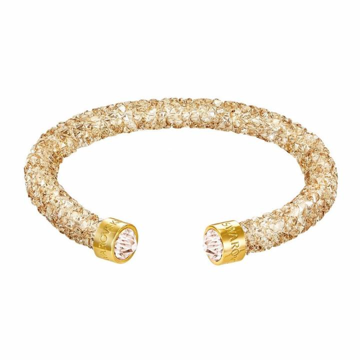 Swarovski Dust Cuff, Golden Crystal, Size Medium, Was £59.00