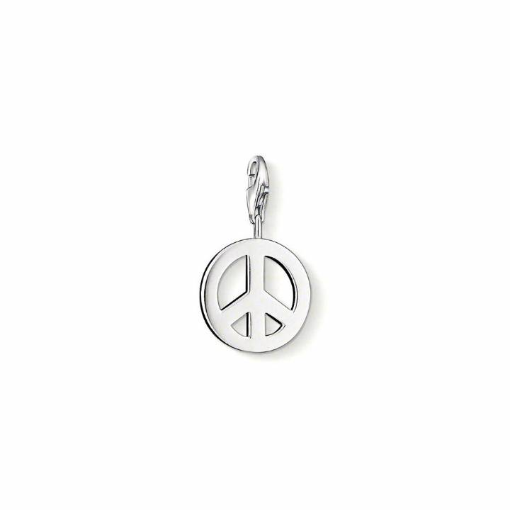 Thomas Sabo Silber Peace Sign Charm, Was £29.95 2308170