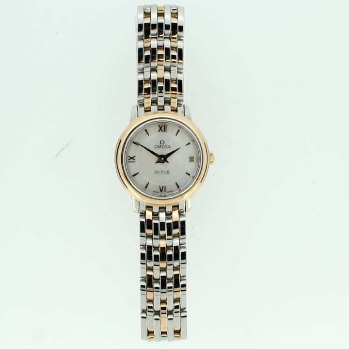 Pre-Owned Ladies Omega Deville Bi-Colour Watch