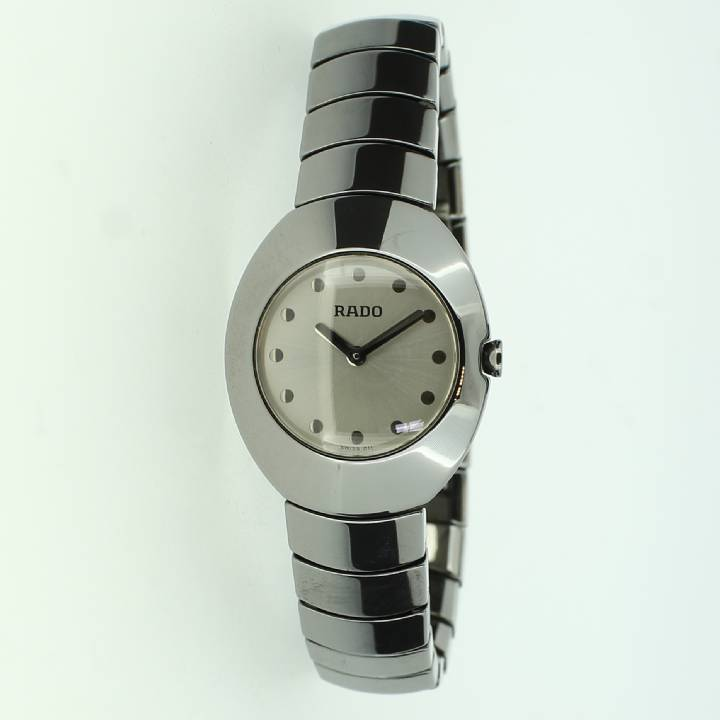 Pre-Owned Ladies Rado Oviation Ceramic Watch 1709466
