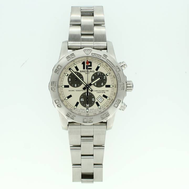 Pre-Owned Gents Breitling Colt Chrono II Watch Original Papers