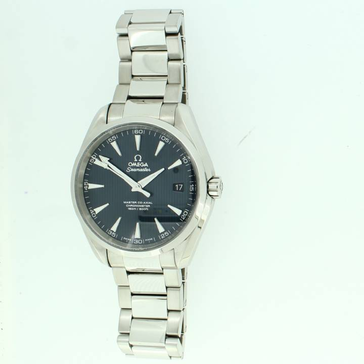 Pre-Owned Omega Seamaster Aqua Terra Watch, Original Papers