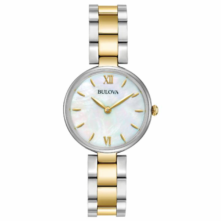 Bulova Ladies Classic 2 Tone Dress Watch, Was £169 0140045