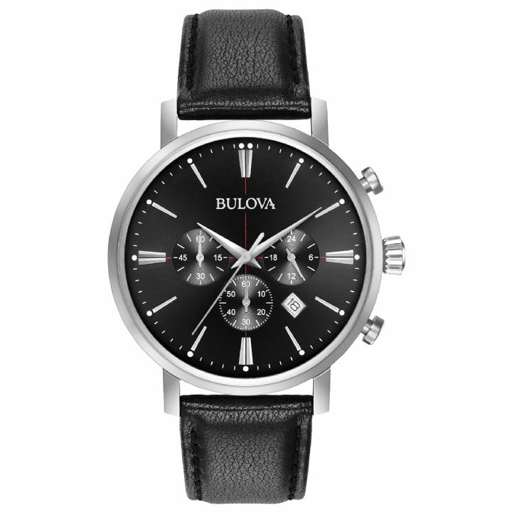 Bulova Gents Aerojet Chronograph Watch 96B262  Was £199