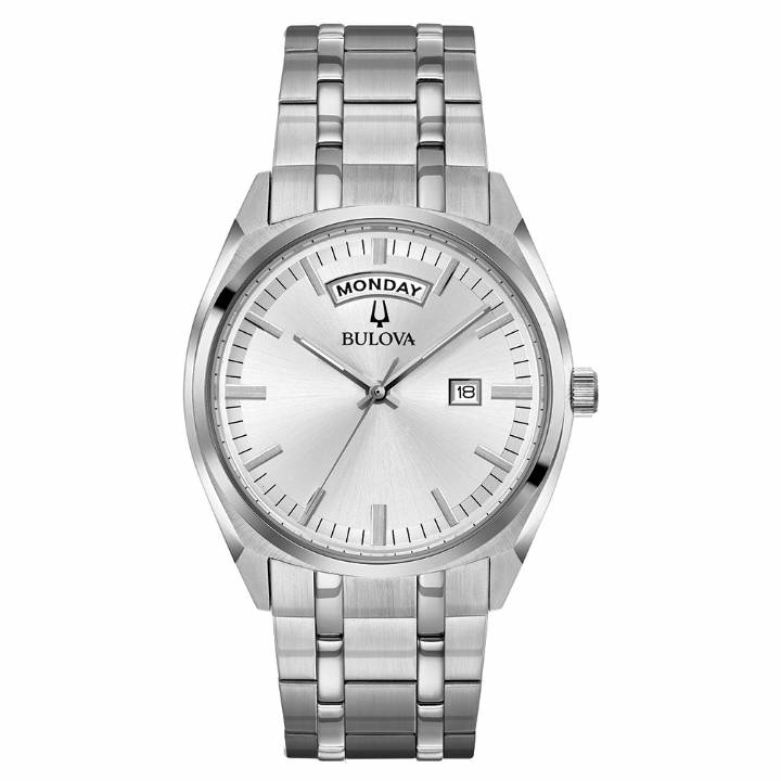 Bulova Gents Steel Dress Watch 96C127  Was £229