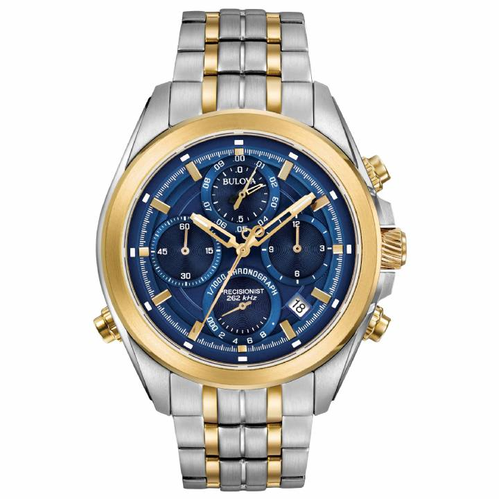 Bulova Gents Precisionist Chronograph Watch 98B276  Was £599 0141066