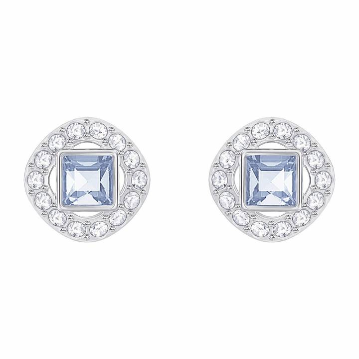 Swarovski Angelic Blue & White Crystal Stud Earrings, Was £45.00 2601112