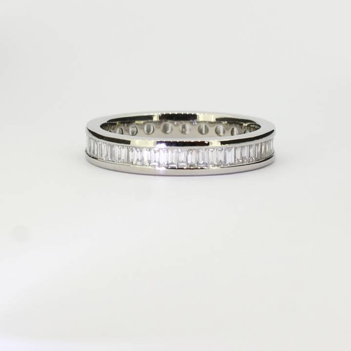 Pre-Owned Platinum Diamond Full Eternity Ring, 1.02ct