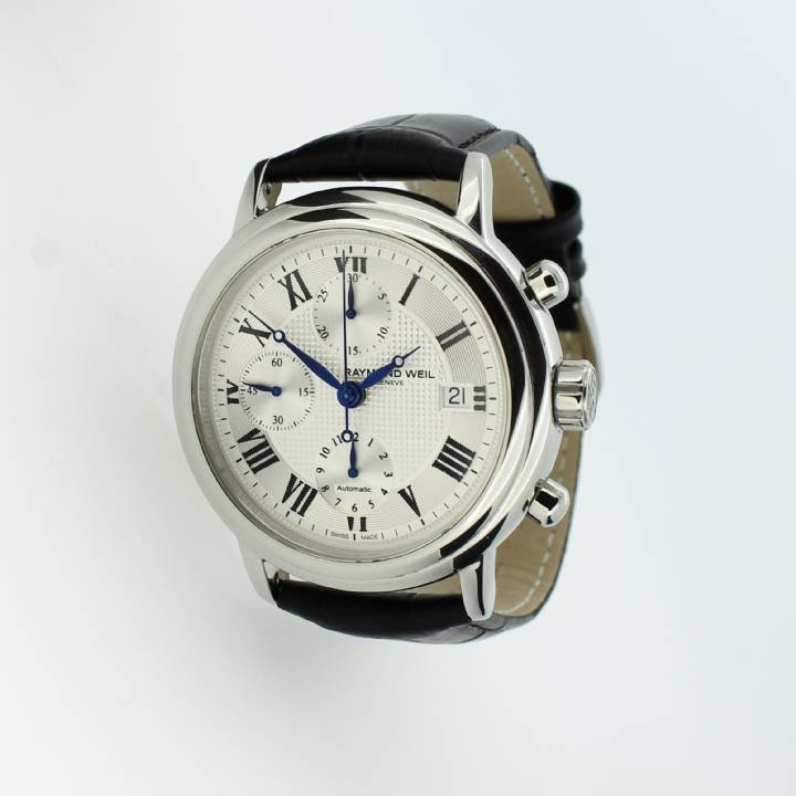 Pre-Owned Gents Raymond Weil Maestro Watch, Automatic Movement