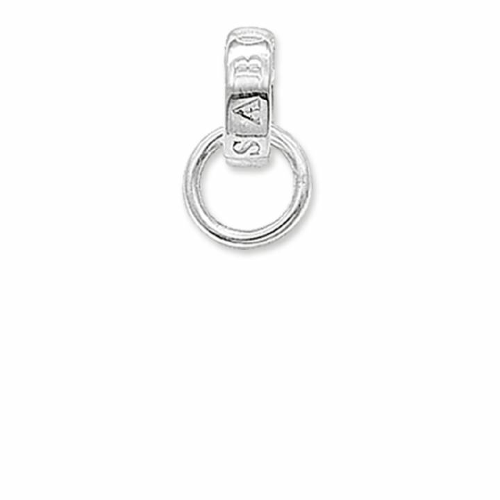 Thomas Sabo Plain Polished Silver Charm Carrier, Was £8.95