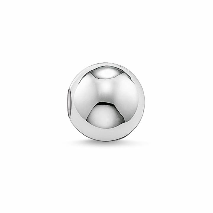 Thomas Sabo Small Polished Silver Karma Bead, Was £16.95