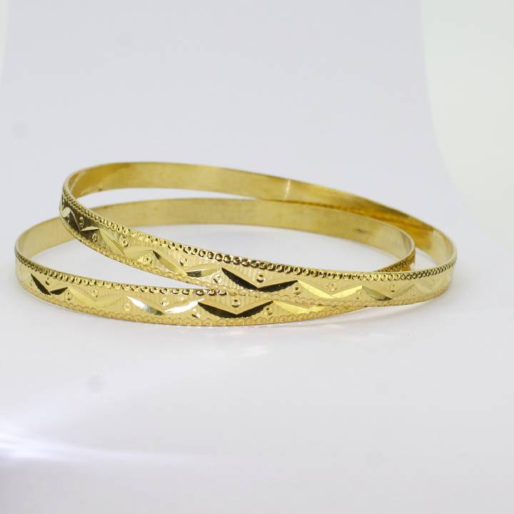 Pre-Owned 22ct Yellow Gold Bangles 7022070