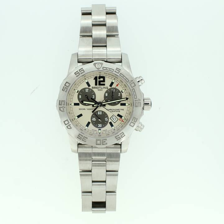 Pre-Owned Gents Breitling Colt Chrono II, Cream Dial 1704211