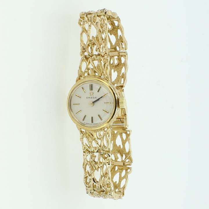 Pre-Owned Ladies Omega 9ct Gold Dress Watch