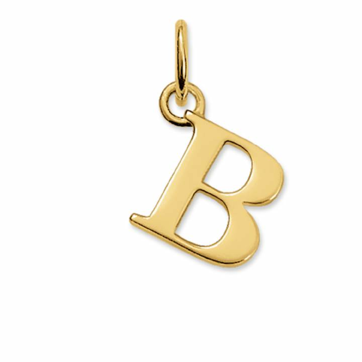 Thomas Sabo Gold Plated Letter B Pendant, Was £25.95