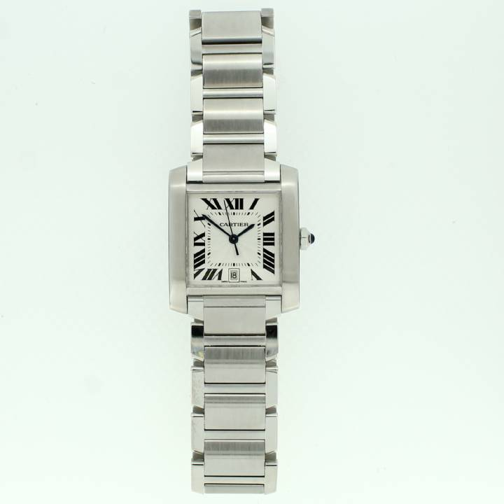 Pre-Owned Gents Cartier Tank Francaise Watch, Original Papers 1702310