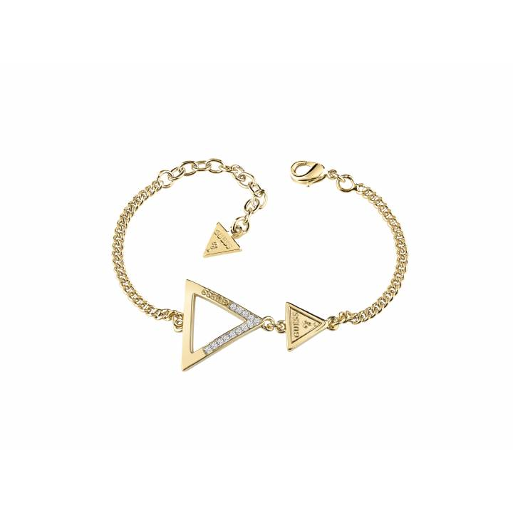 Guess Gold Plated Iconic 3 Angles Bracelet, Was £49.00