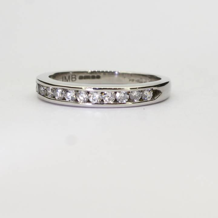 Pre-Owned 18ct White Gold Diamond half Eternity Ring 0.33ct 1603270