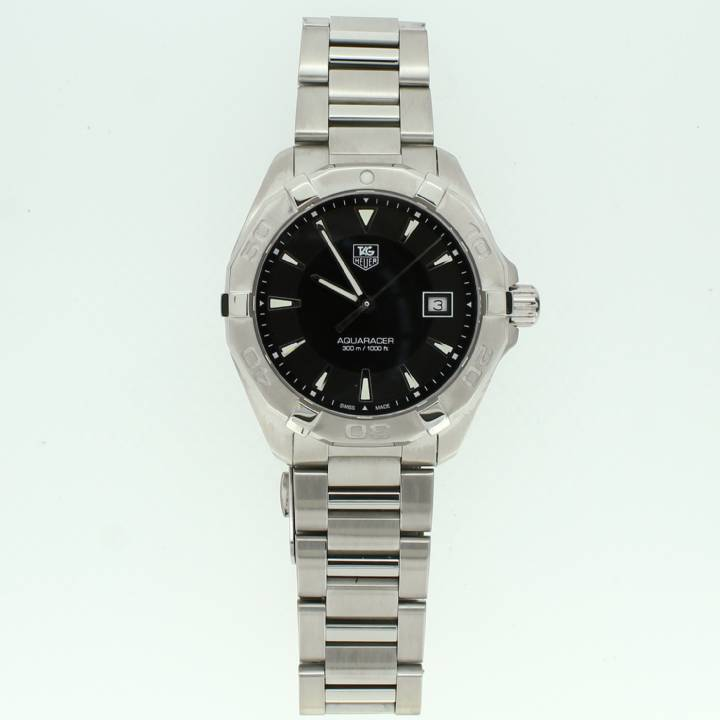 Pre-Owned Gents Tag Heuer Aquaracer, Black Dial 1705523