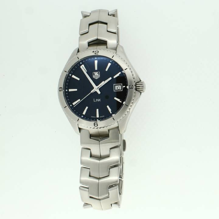 Pre-Owned Gents Tag Heuer Link Watch, Black Dial 7209064