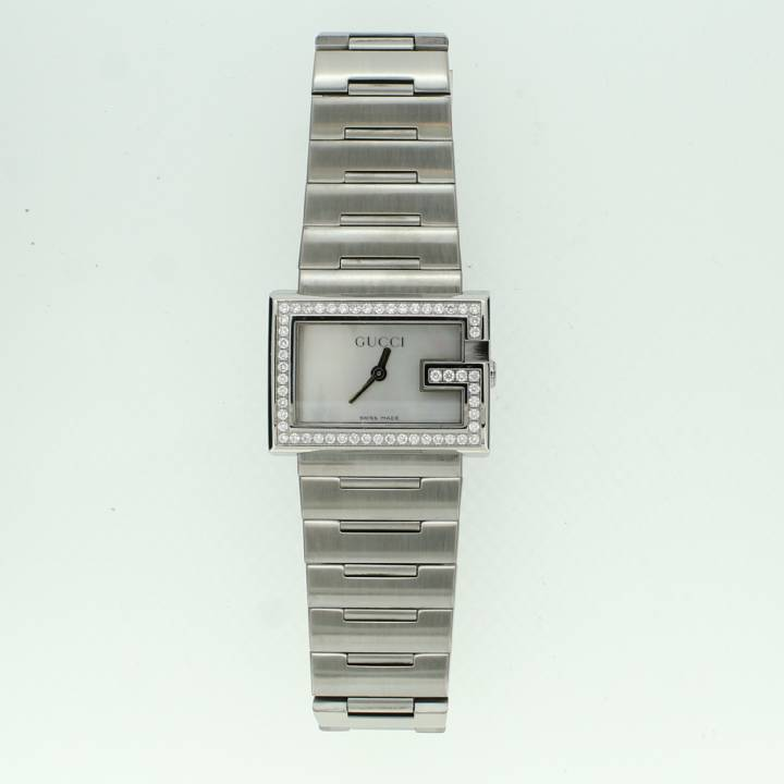 Pre-Owned Ladies Gucci G Watch, Mother Of Pearl Dial 1706351